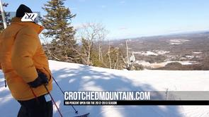 Ski Film : 100% Open, Crotched MTN '13