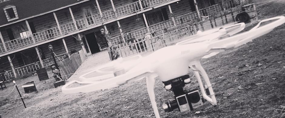 phantom dji helicotper aerial videography nh 1