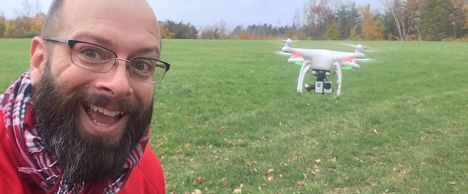 phantom dji helicotper aerial videography nh 2