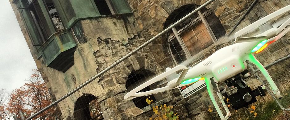 phantom dji helicotper aerial videography nh 3