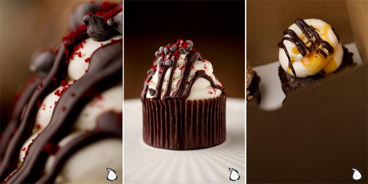 swan chocolates cupcakes nh food photographer