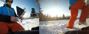 NH Ski Video aerial videography
